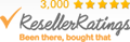 Reseller rating of 5 stars for rapidwristbands