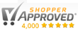 Shopper Approved logo for Rapid Wristbands